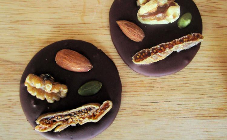 エンゼルパン&手作りナッツチョコ