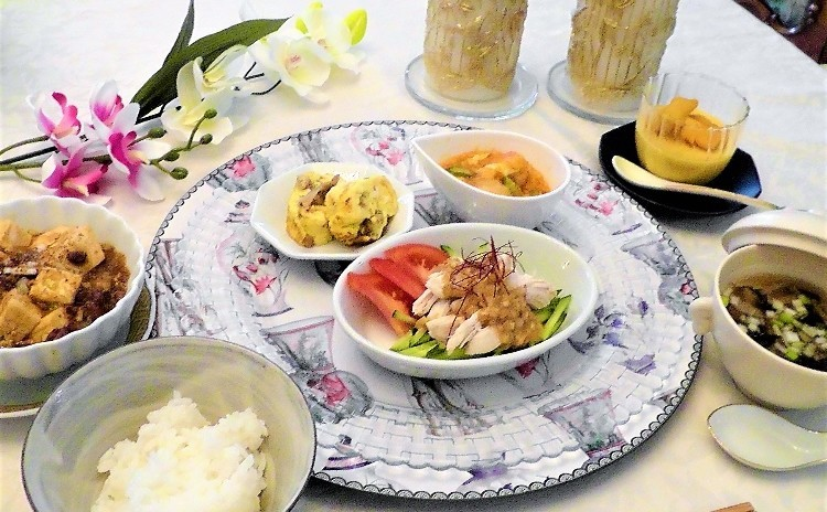 麻婆豆腐・エビチリ・棒棒鶏など定番中華を本格的に作りましょう!