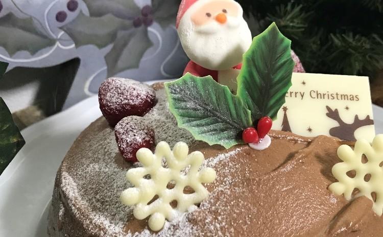 「お山のうえのサンタさん」でクリスマス(15㎝丸1台)
