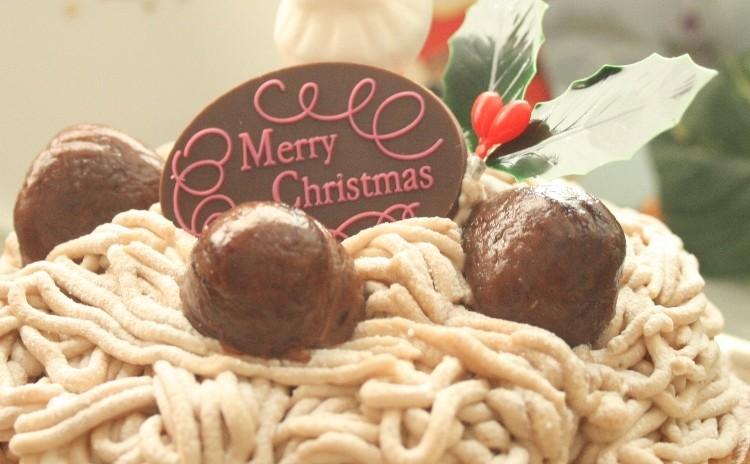「ノエルモンブラン」を手作りしてハッピークリスマス!(17cm丸)