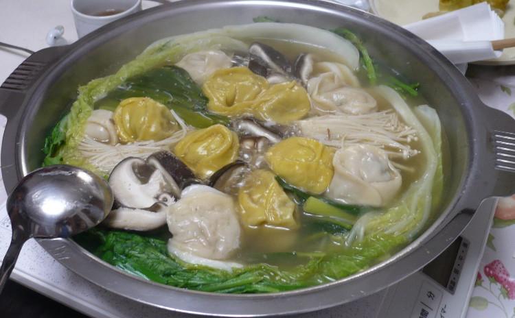 韓国餃子「マンドゥー」を皮から作りましょう。~あつあつ鍋料理レッスン~