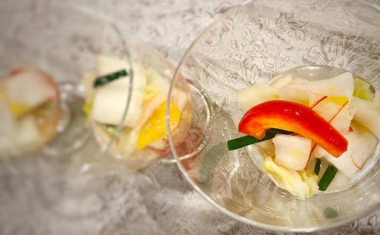 【大阪開催】発酵食の代表選手!乳酸菌たっぷり本格的 水キムチとオイソハギ作り