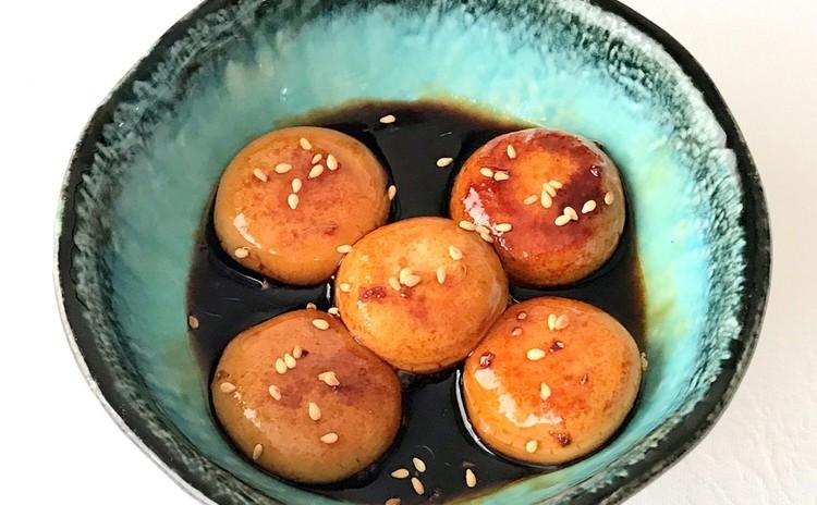 油湯団(黒砂糖ソースの白玉団子)
