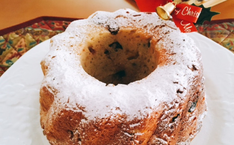 豪華で簡単ホシノ酵母で作るクリスマスの定番クグロフ 可愛いクグロフ(10㎝)2個・クグロフ大(18㎝)1台分(小6個分)生地・クグロフ大1個分酵母持帰り付