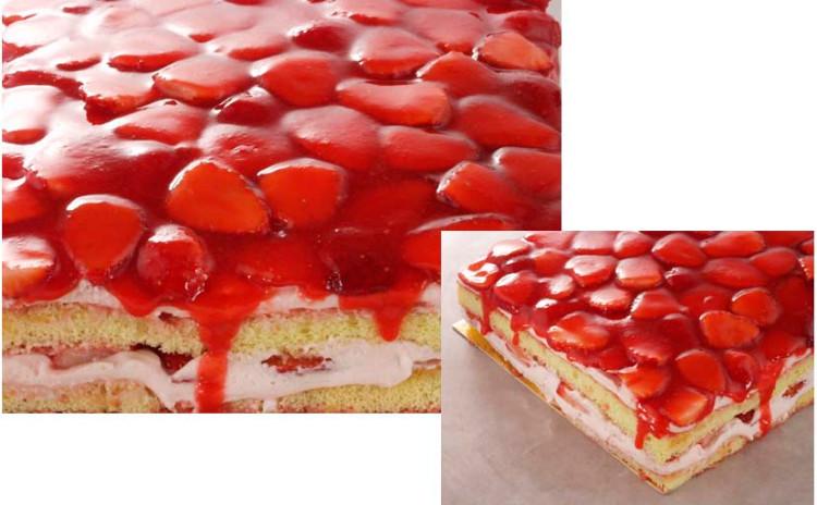 クリスマスケーキに♪特別な苺のショートケーキ