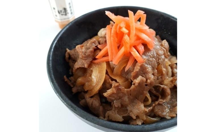 絶品牛丼(単品定価:6,500円)