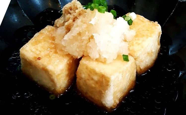 もっちり揚げ出し豆腐(単品定価:9,000円)