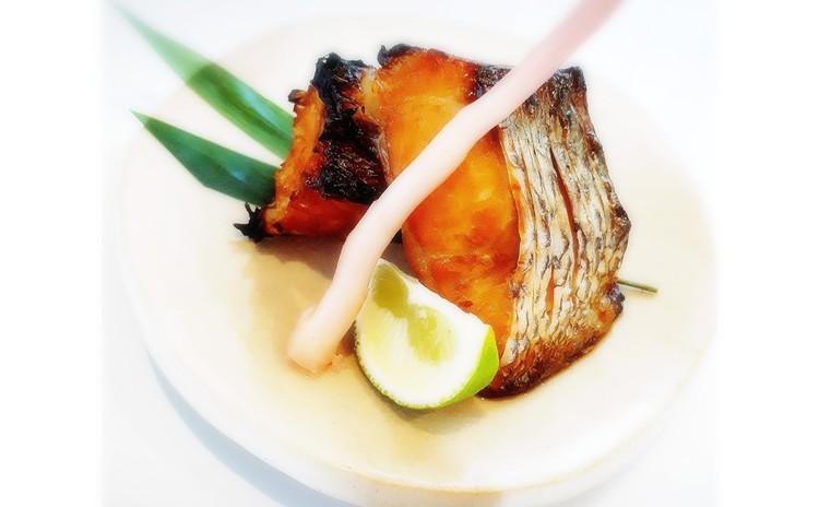 鯛の幽庵焼き(単品定価:6,000円)