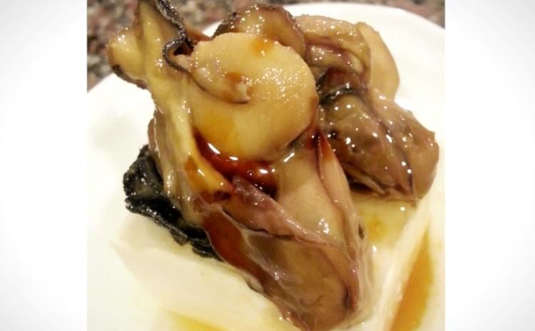 牡蛎のオイル漬け(単品定価:9,000円)