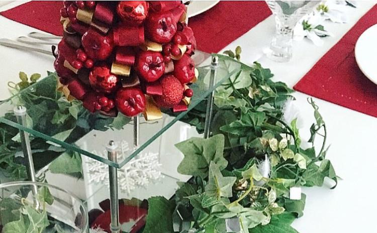 【秋の洋食テーブル】