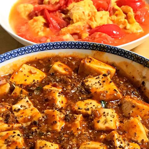 スパイスのバランスが絶妙な四川料理が大人気
