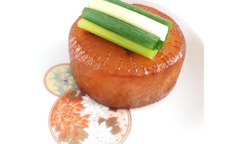 大根のこっくり煮(単品定価:5,000円)