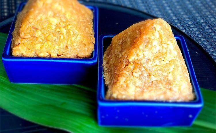 乾燥麹と乾燥おからのおから味噌、おから麦味噌