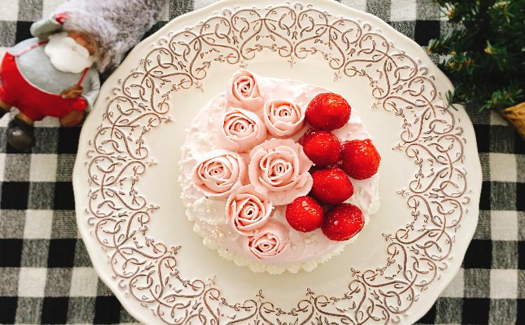 ゴージャスなクリスマスケーキ