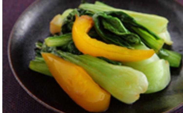 青梗菜(チンゲンサイ)のオイスター炒め
