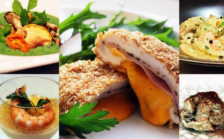 コルドンブルー・豚のブランケット・白い野菜のブラマンジェ・マロンシャンティ、他✿お土産付