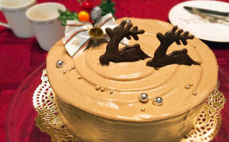 アールグレイ紅茶が香るしっとり美味しいチョコレートクリームケーキ