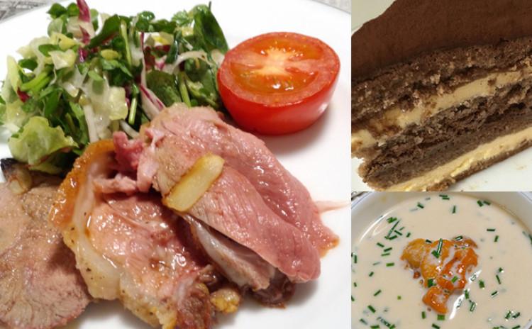 【シェフ直伝】世界一フランス産ラム肉のローストと贅沢雲丹のコース