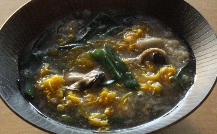 カラダぽかぽか!長芋と牡蠣で4品。牡蠣と春菊のチヂミ、長芋ねっとりサラダ、牡蠣と長芋の煮物