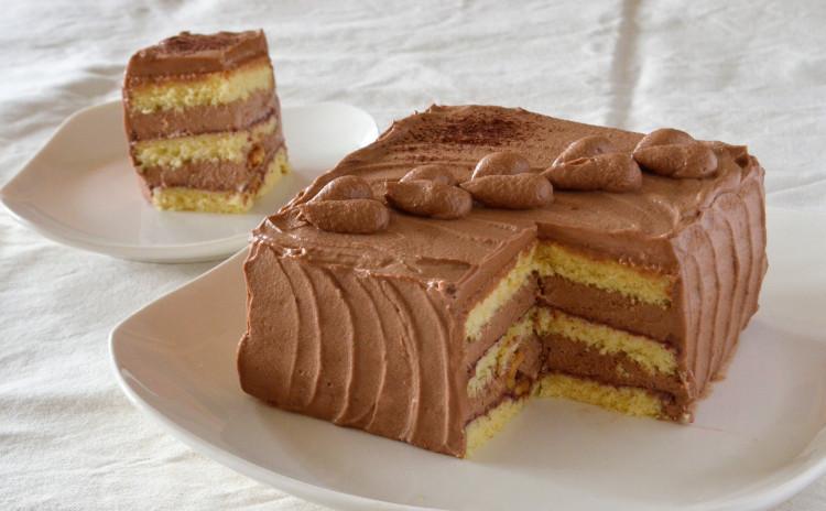 ハートがかわいい♡ 生チョコレートケーキ