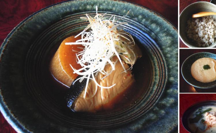 料亭の「ブリ大根」「麦飯」「とろろ汁」「蕪(かぶ)のみぞれ汁」