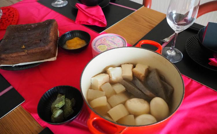【料理教室・実習あり】柿de濃厚ガトーショコラ&フランチおでんでバレンタイン
