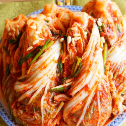 白菜キムチ(キムジャン)
