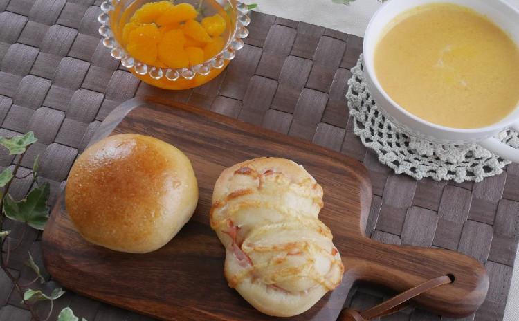はじめてクラス★自家製酵母★バンズパン&ハムロール
