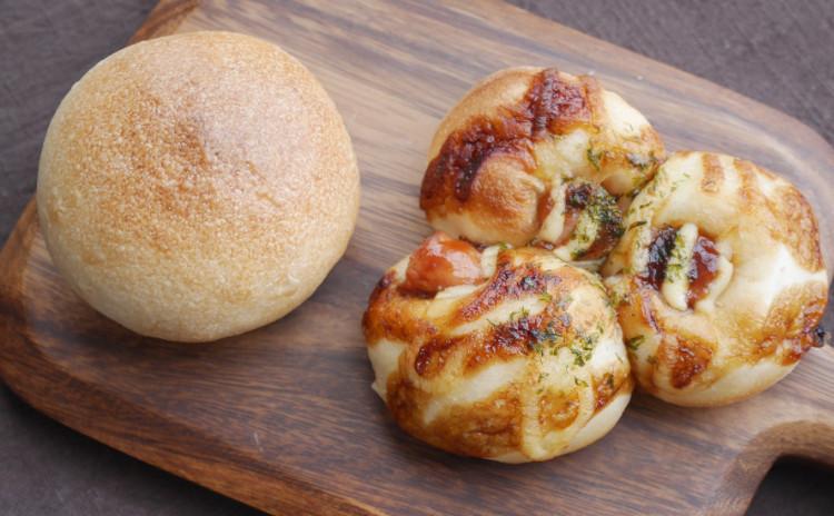 はじめてクラス★自家製酵母★バンズパン&ウインナーパン