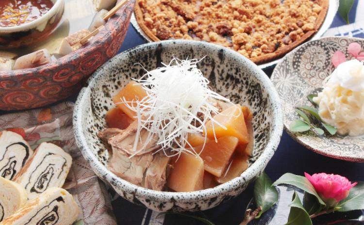 冬の旬の決定版!沁み渡る豪快ブリ大根と、湯気囲む田楽鍋。卵の応用も嬉しい、寒の時季を楽しむ献立。