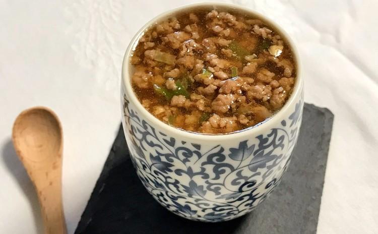 中華茶碗蒸しのひき肉のあんかけ(肉臊蒸旦)