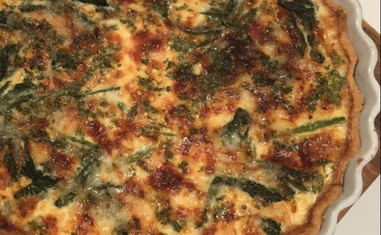身近なお料理をワンランクアップ、スペシャルレシピのタラバガニのキッシュとフランス風鯛めし。