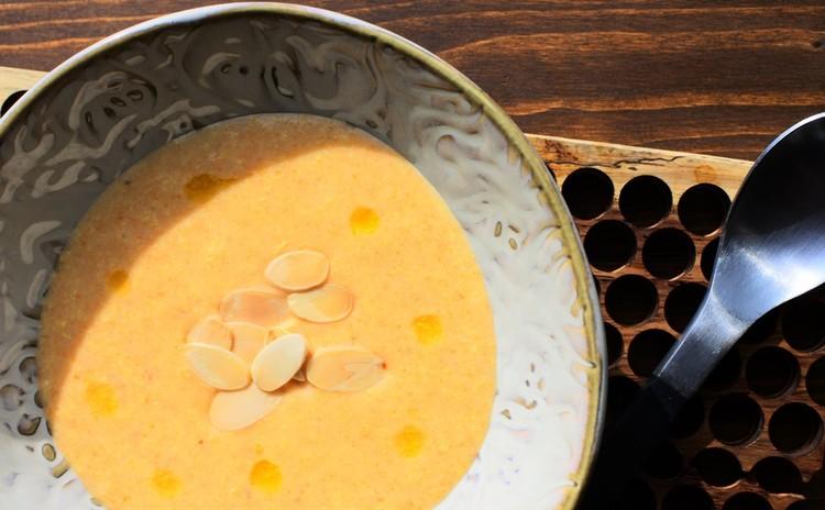 にんじんのクリームスープ