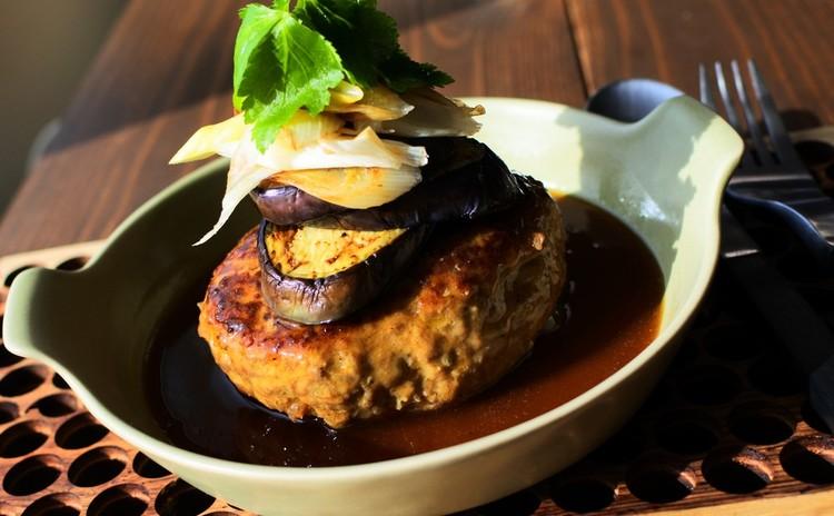 基本の麺つゆから展開 和風煮込みハンバーグ