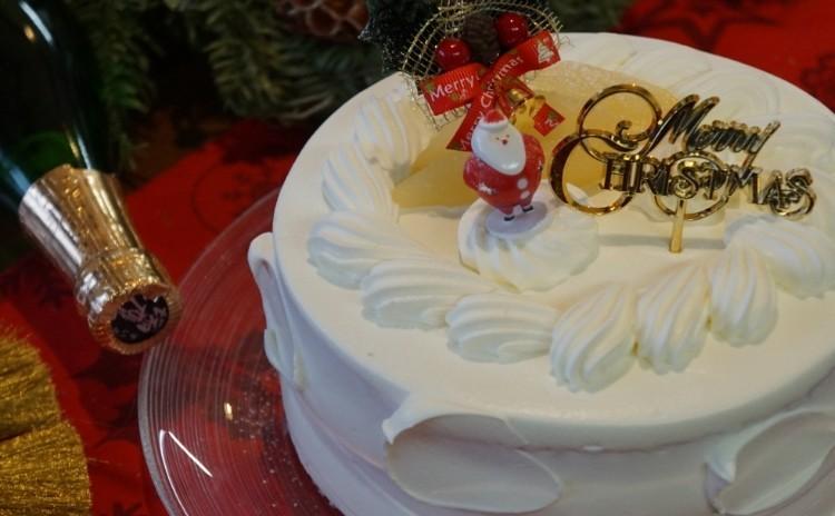 クリスマスデコレーションケーキレッスン