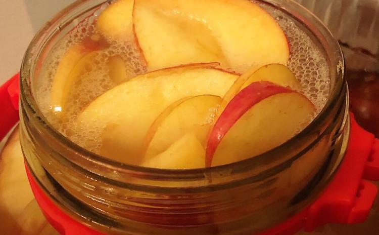 自家製リンゴ酢づくり