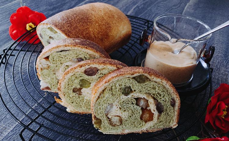 べにふうき5つの豆と和三盆贅沢食パンと きなこ豆乳ジャム