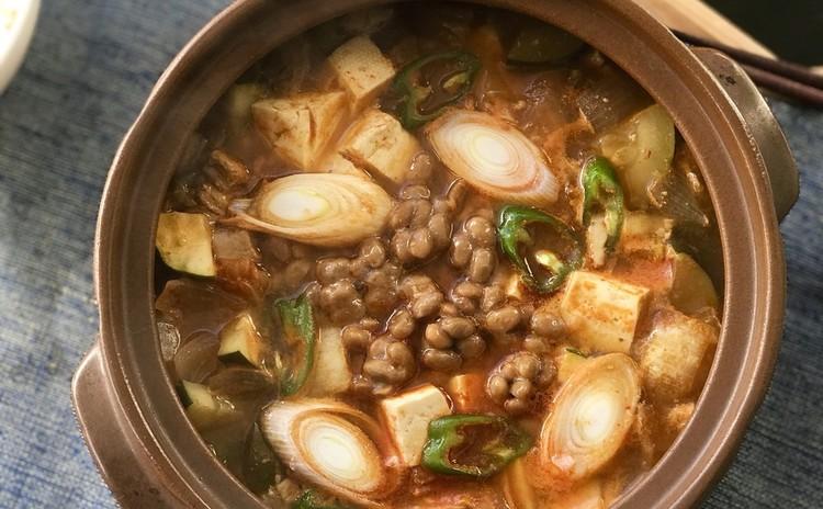 納豆キムチチゲ