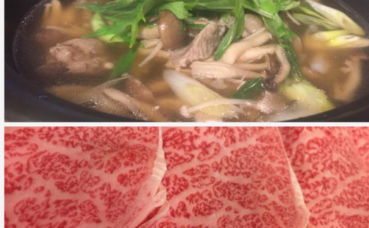 牛すじ肉ときのこを使ったあったかお鍋メニュー☆