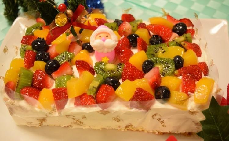 【キッズクッキング♪】クリスマスケーキは手作りで(*^-^*)