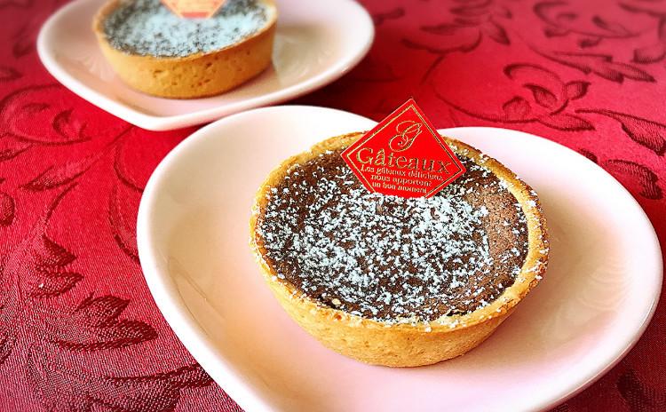 牛肉のロール煮込みとマッシュルームスープ♪焼きチョコタルトDEバレンタイン♡