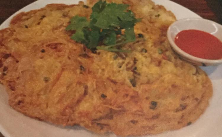 美味しいタイ料理*グリーンカレー素麺*卵焼き*生春巻*パパイヤサラダ