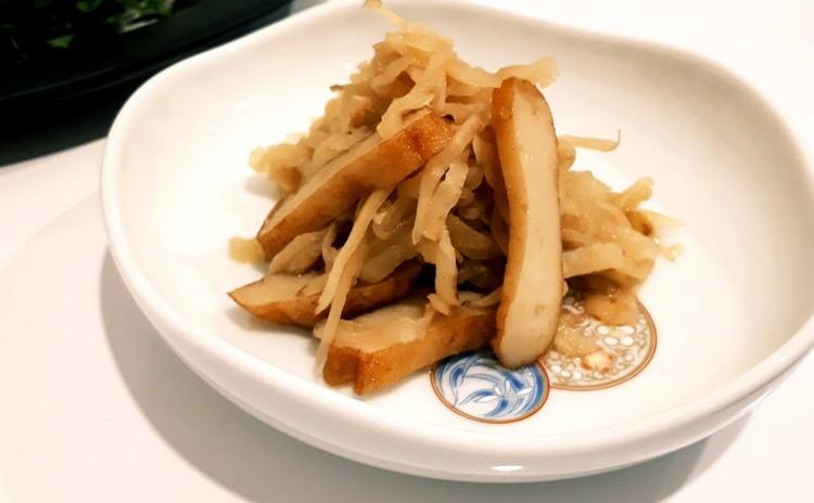 切干大根の煮物(単品定価:4,000円)
