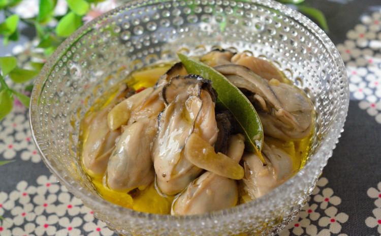 牡蠣のオイル漬け&パスタアレンジ♪サラダチキンやラタトゥイユ、ディップやサラダも♡おうち洋食の献立です♪