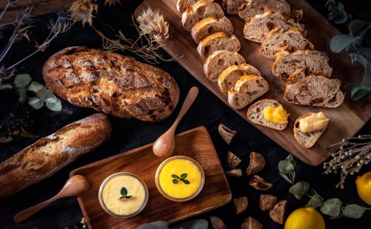 自家製レモン酵母パン!意外と簡単!レトロバケット&フィグノア、アップルレモンバター