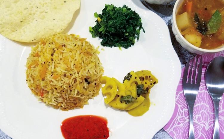 【インド・アーユルべヴェーダ料理で健康美人♪】レモンライス・蕪のサンバールカレー・アップルジンジャースープ・ピーナッツチャツネなど全8品!