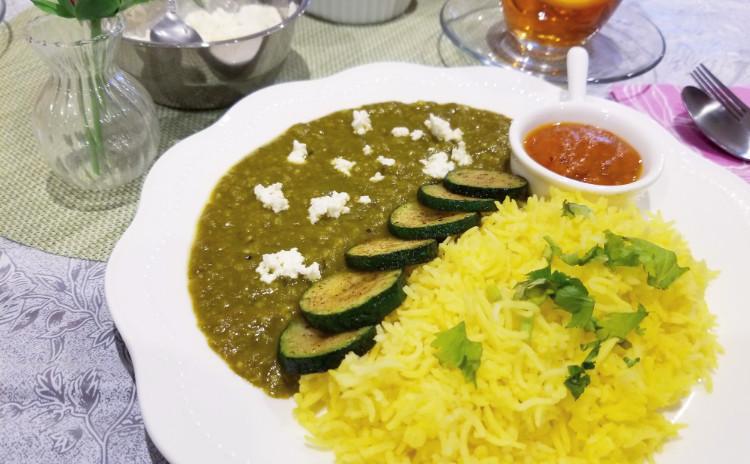 【アーユルべヴェーダ料理でスパイスの達人に!】さわらのカレー、豆カレー、ラッサムスープ、スプラウトのサラダなど全7品