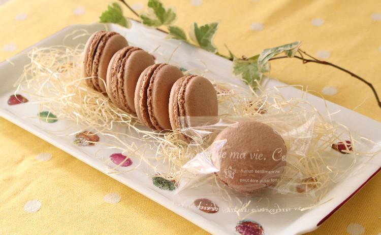 バレンタインにマカロン・ショコラ とオランジェット♪ macaron ・chocolat  et orangette