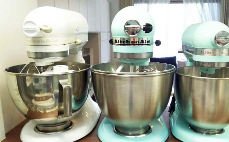 キッチンエイドスタンドミキサーを使ってお菓子、お惣菜、麺作りをしましょう♪