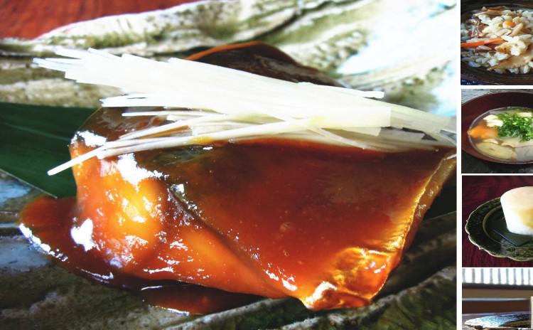 鯖味噌・けんちん汁・炊き込みご飯・風呂吹き大根・田楽味噌